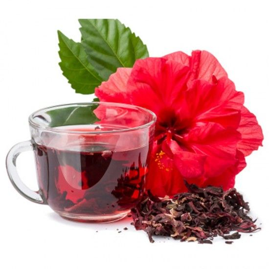 100 Organic Dried Hibiscus Flowers 250gm